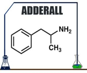 Adderall Drug Composition